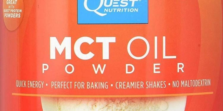 Quest Nutrition MCT Oil Powder Label