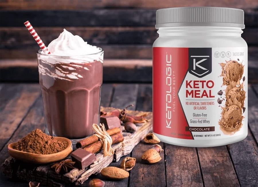 ketologic meal chocolate