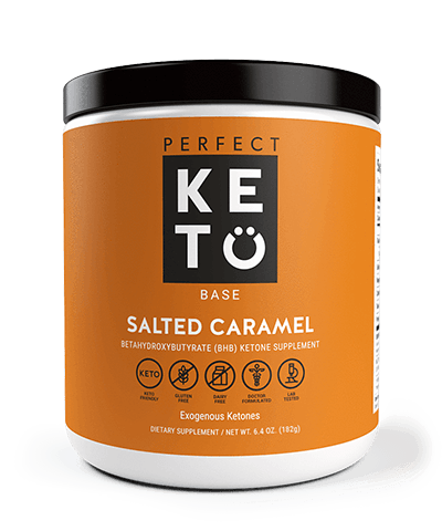 base caramel front ketogenic diet reviews