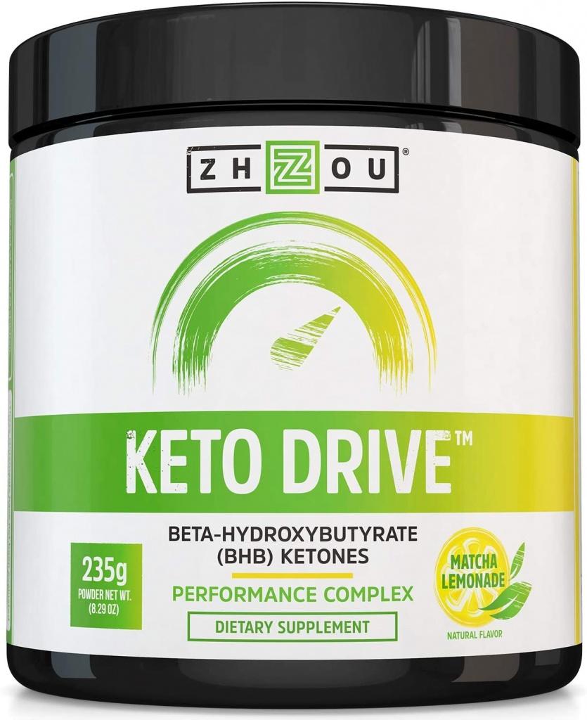 bottle of keto drive