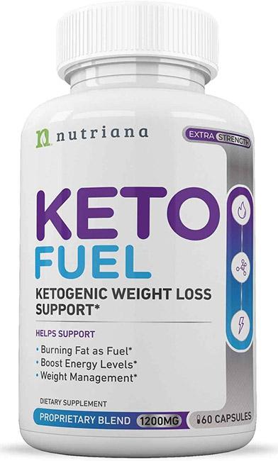 Bottle of keto fuel