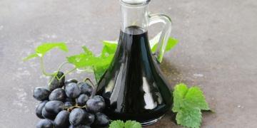 Balsamic vinegar in a jug